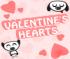 لعبة قلوب عيد الحب